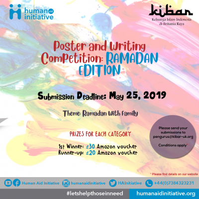 Poster and Writing Competition: Ramadan Edition
