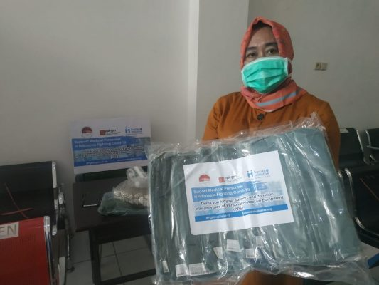PPE Provision for Healthcare Worker in Samarinda
